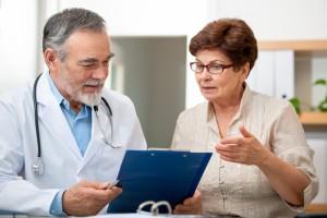 Doctor & Patient Talking
